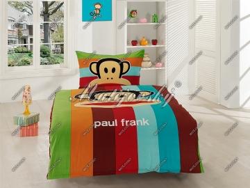 Paul Frank stripe, 100% hladká bavlna, zipový uzávěr