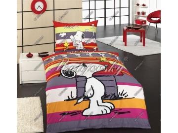 Snoopy promenade, zipový uzávěr